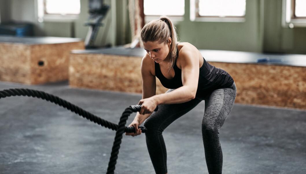 PUSTE RIKTIG PÅ TRENING: - Det er mange som rett og slett glemmer å puste, sier personlig trener. FOTO: NTB Scanpix
