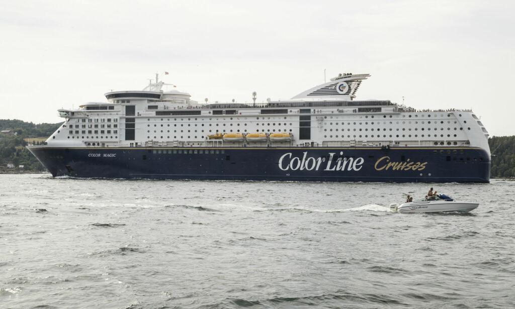 image: Åpner for at Color Line kan flagge om Kiel-ferga