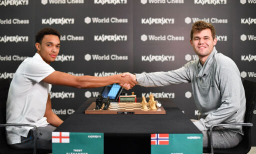 image: Carlsen knuste Liverpool-stjerne i sjakk