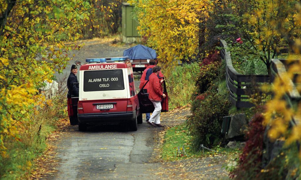 Skutt: Forlagssjef William Nygaard ble skutt og alvorlig såret utenfor sitt hjem i Dagaliveien i 1993. Foto: NTB arkivfoto Jon Eeg / SCANPIX