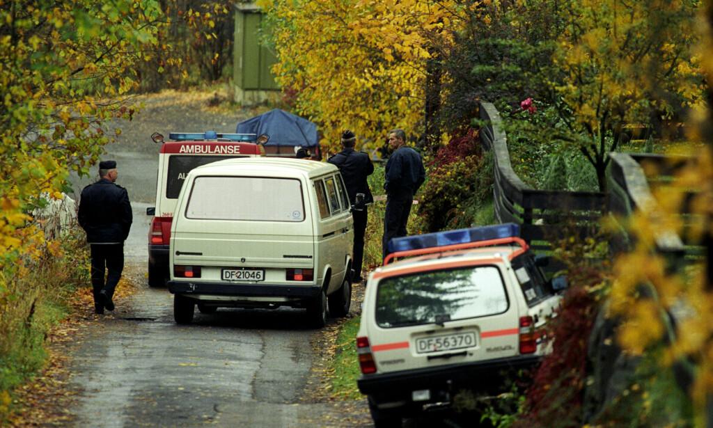 ATTENTAT: Forlagssjef William Nygaard ble skutt og alvorlig såret utenfor sitt hjem i Dagaliveien den 11. oktober 1993. Foto: NTB arkivfoto Jon Eeg / SCANPIX