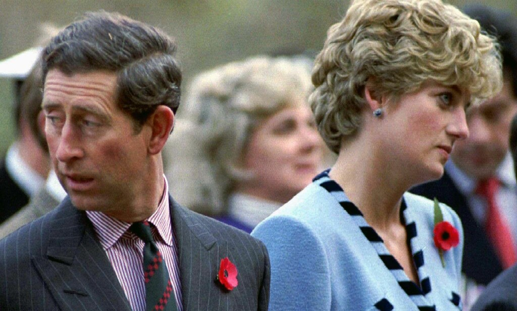 ERKLÆRTE SIN KJÆRLIGHET: Prinsesse Diana angret dypt på at hun lyttet til den private samtalen mellom prins Charles og hans daværende affære Camilla Parker Bowles. Foto: NTB scanpix