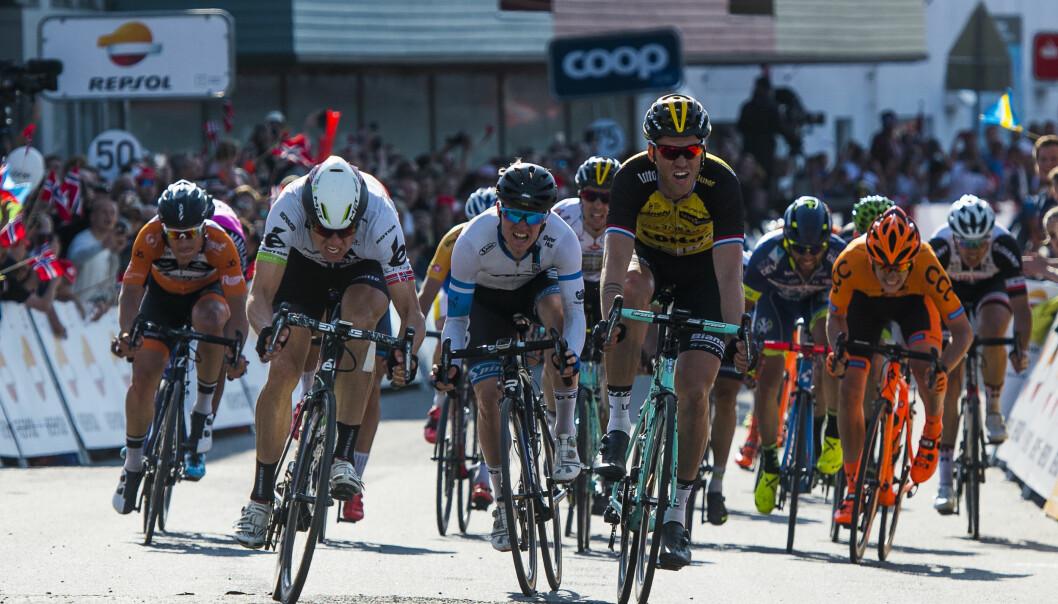 <strong>MANGE OM BEINET:</strong> Det er ikke enkelt å vinne sykkelritt, og det er heller ikke enkelt å arrangere dem. Roy Hegreberg i Tour des Fjords føler de har kommet langt, men savner mer midler fra Regjeringen til arrangementer som er eid av idretten selv. FOTO: Tour des Fjords