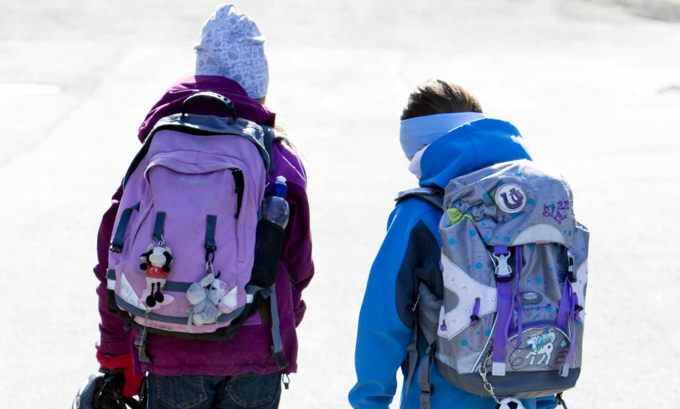 Noen taper: Barn fra de fattigste familiene har tapt på middelklassens skolepolitikk, skriver spaltist Karl-Eirik Kval. Foto: Gorm Kallestad / SCANPIX