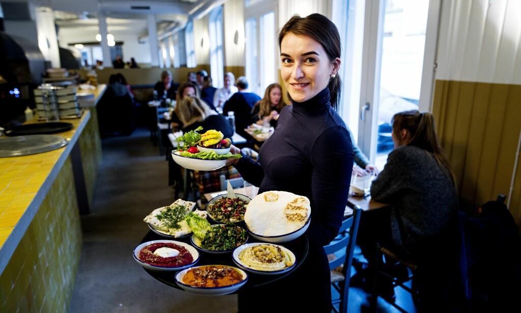 EKSOTISK PÅ LØKKA: Gode småretter med masse smak på Restaurant Ben Reddik. Foto: John T. Pedersen