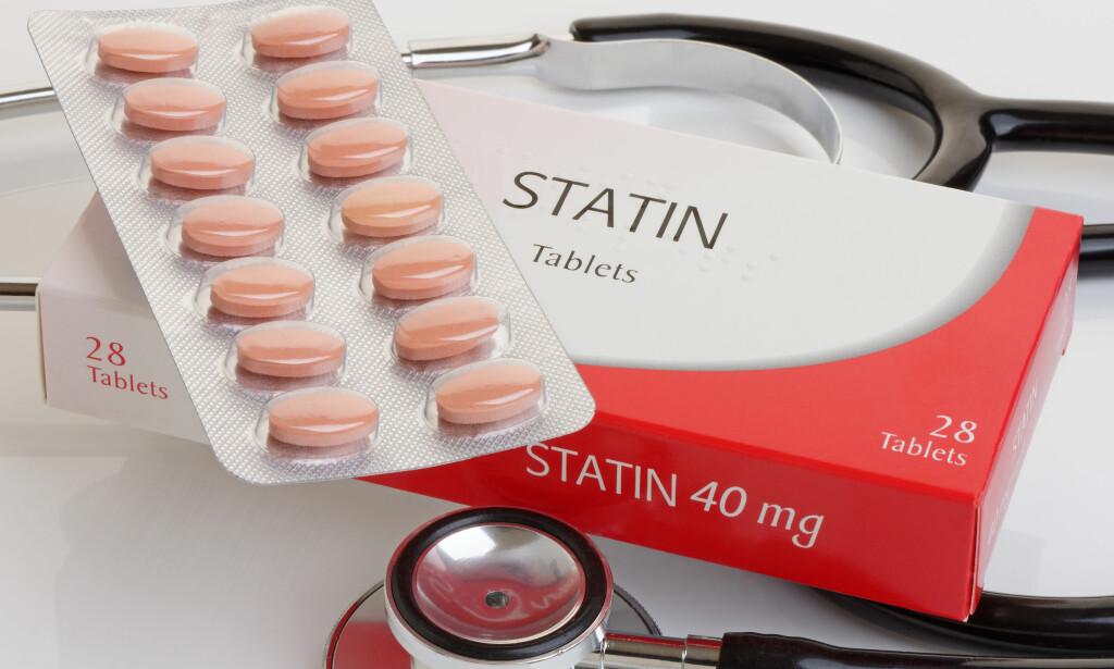 EFFEKTIV MEDISIN: Statiner er de vanligste og mest effektive medisinene mot høyt kolesterol. Foto: NTB / Scanpix / Shutterstock