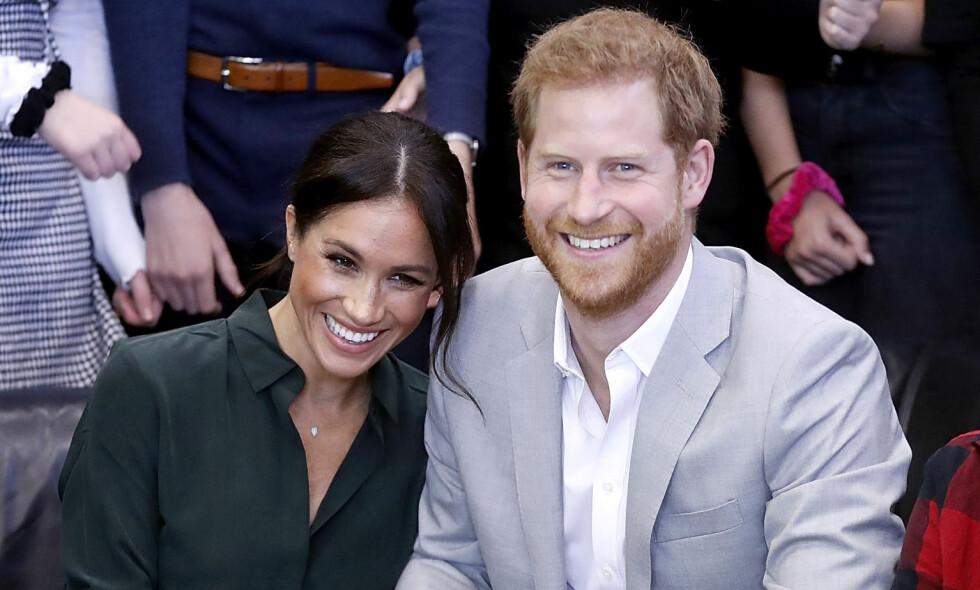 LYKKELIGE: I 2016 møttes prins Harry og Meghan for første gang. Kjemien stemte, og i mai ble de mann og kone. Foto: NTB Scanpix