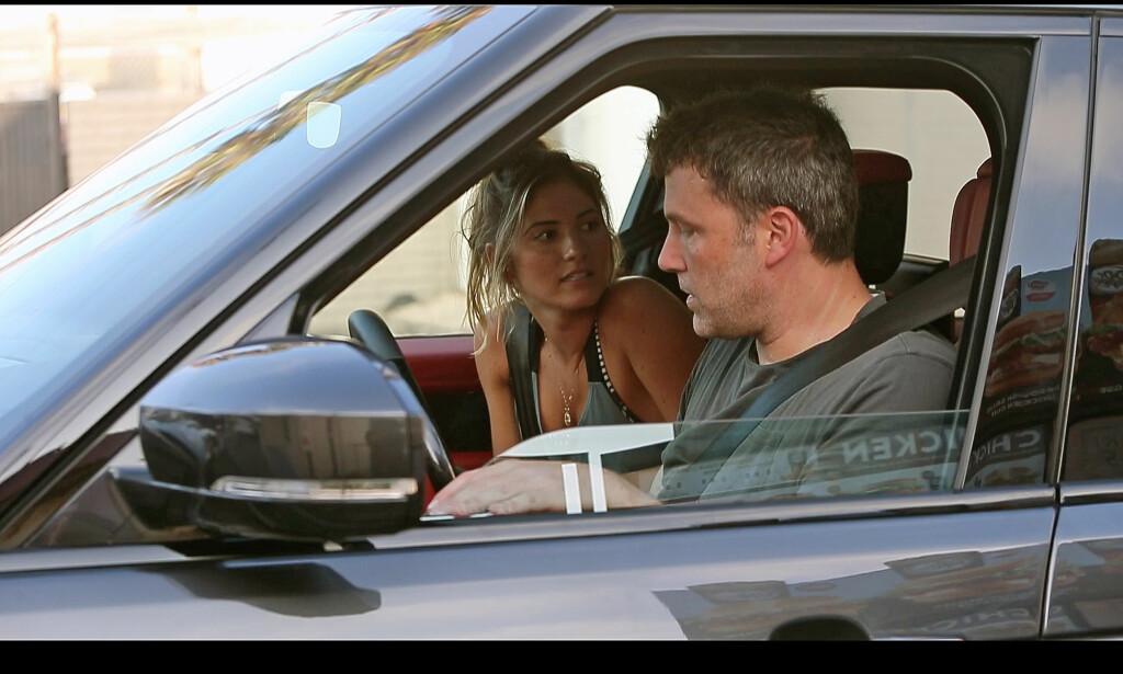 BRUDD: Ben Affleck og Shauna Sexton er ikke lenger et par. Foto: NTB Scanpix