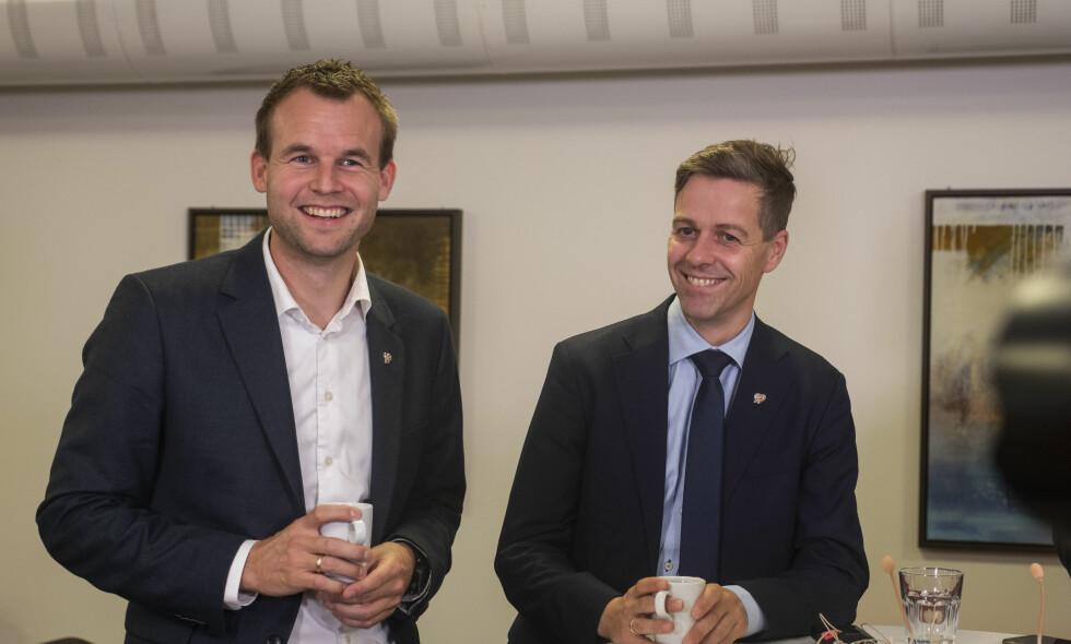 INGEN ULTIMATUM: Kjell Ingolf Ropstad vil fortsette i partiledelsen selv om Hareide får viljen sin og KrF åpner forhandlinger med Ap og Sp. Foto: Tor Erik Schrøder / NTB scanpix