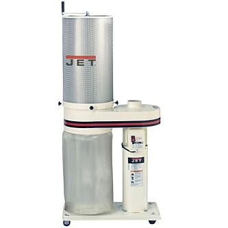 <strong>SPONAVSUG:</strong> Et slikt avsug er beregnet på større snekkermaskiner. De billigste begynner på 2700 kroner. Foto: Produsenten