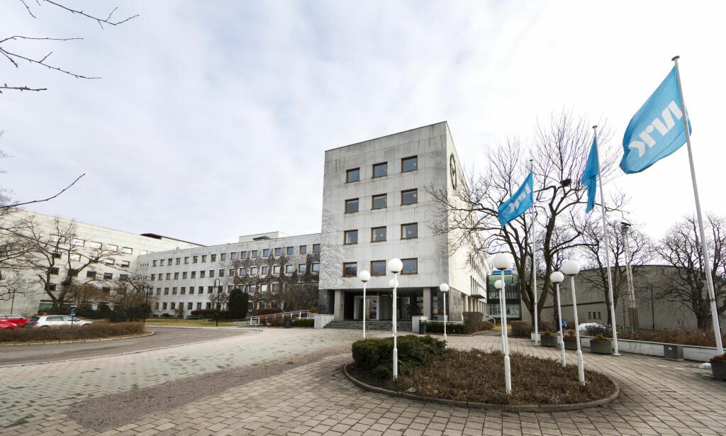 NRK-SKATT: NRK skal fra 2020 finansieres gjennom en skatteordning. Her fra NRK-huset på Marienlyst i Oslo. Foto: Gorm Kallestad / NTB scanpix