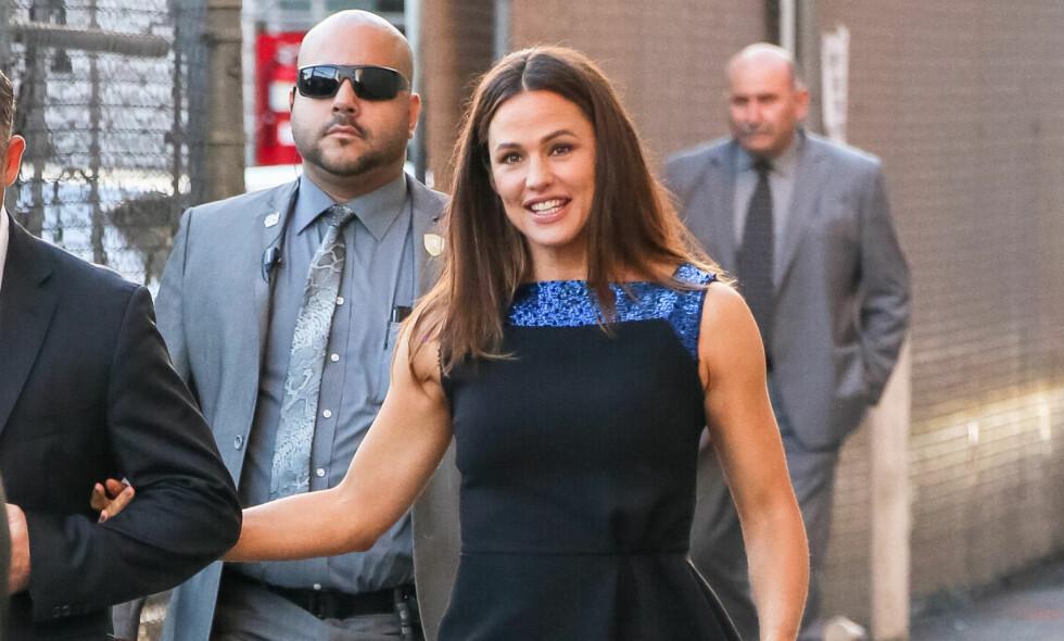 GÅTT VIDERE: Ifølge kilder ser det nå ut til at Jennifer Garner har kommet seg videre etter skilsmissen med Ben Affleck. Foto: NTB Scanpix