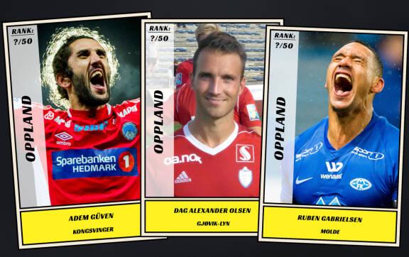 453fced1 Dagbladet kårer de 50 beste fotballspillerne fra Oppland