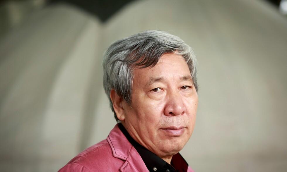 KINA: Bøkene til den kinesiske forfatteren Yan Lianke blir som regel stanset av de kinesiske sensurmyndighetene. Foto: Pako Mera/REX/Shutterstock.