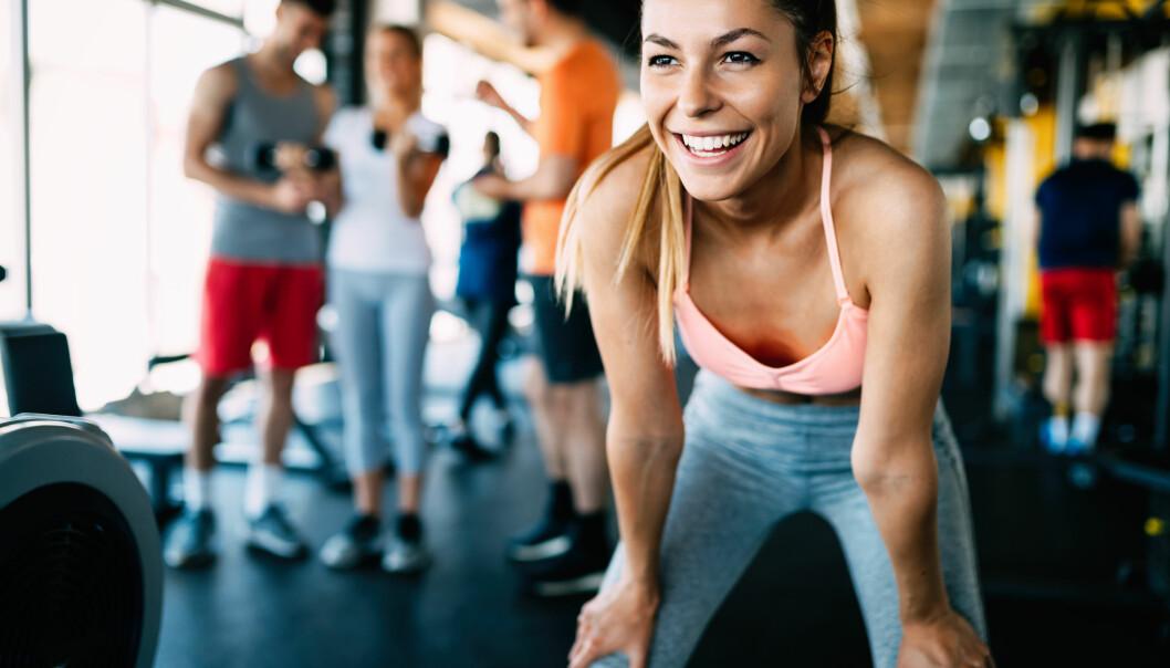 VIKTIG MED GOD TEKNIKK: Med noen små justeringer kan du få mye mer utbytte av treningen. FOTO: NTB Scanpix
