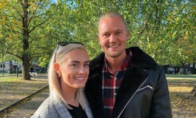 VINNERE: Andrea og Morten vant både hverandres hjerter og 500 000 kroner. Foto: Helén Skogstad / Se og Hør