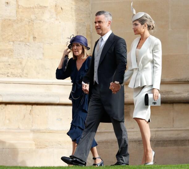 <strong>SPESIELL ROLLE:</strong> Datteren til Robbie Williams og Ayda Field, Theodora, er blant brudepikene i bryllupet. Foto: NTB scanpix