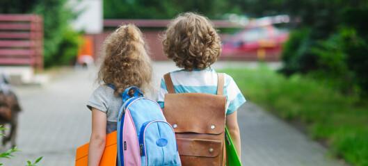Kan det være at jenter i større grad enn gutter tror det nytter å jobbe med seg selv?