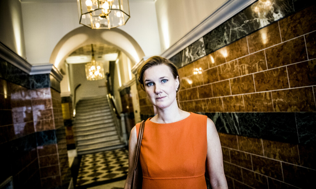 TROR PÅ MER KAOS: Karin Svanborg-Sjövall tror det kan ende med nyvalg i Sverige i god tid før jul. Foto: Christian Roth Christensen / Dagbladet