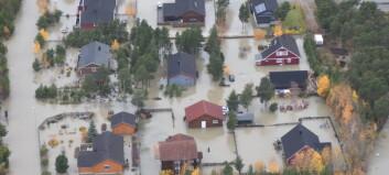 Flommen i Ottadalen kom helt overraskende på NVE