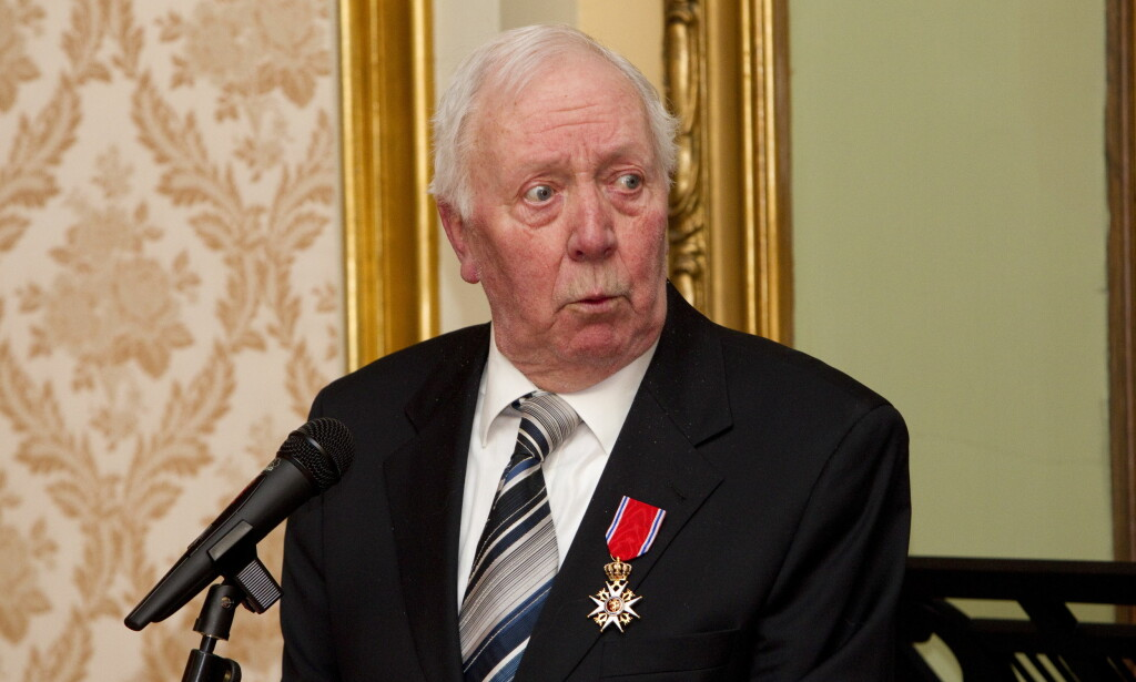 DØD: Haugen ble slått til ridder av 1. klasse i 2010. Foto: Terje Bendiksby / Scanpix