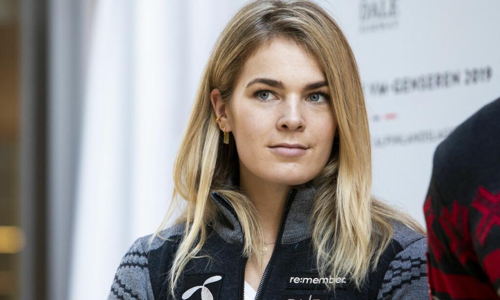 UHELDIG TIMING: Alpinistens skadeavbrekk kommer på et kjedelig tidspunkt, ifølge henne selv. Foto: NTB/Scanpix