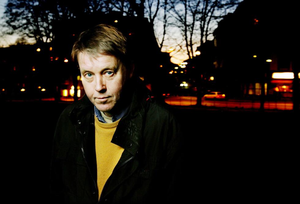 JAN JAKOB TØNSETH (1947-2018); lyriker, romanforfatter, oversetter og essayist. Han bodde lenge i Våghalsen på Sagene, som også var tittelen på hans faste quizlag. Foto: Kristin Svorte/Dagbladet