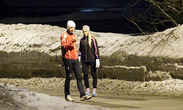cd8b446c VAR KJÆRESTER: Petter Northug og Rachel Nordtømme. Her på en joggetur under  VM i