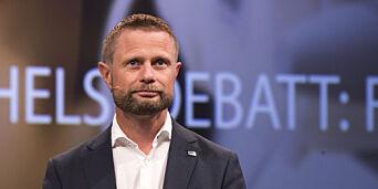 image: Til helseminister Bent Høie