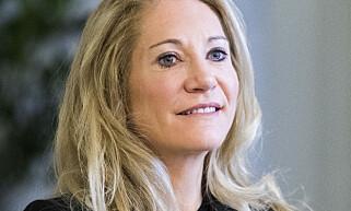 UT MOT HAREIDE: Høyres Julie Brodtkorb har delt en Hareide-video fra valgkampen, som hun mener viser at KrF ville ha Erna Solberg som statsminister. Foto: Håkon Mosvold Larsen / NTB scanpix