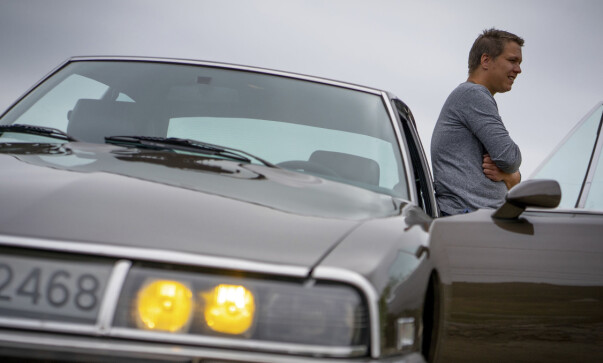 For Ørjan er dette den perfekte veteranbil