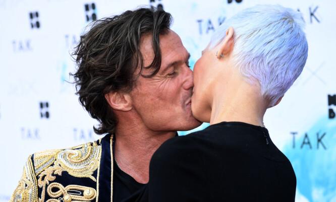SUPERPAR: Gunhild og Petter Stordalen har vært gift siden 2010, og sammen har de kjempet mot Gunhilds sykdom i nærmere fire år. Foto: NTB scanpix