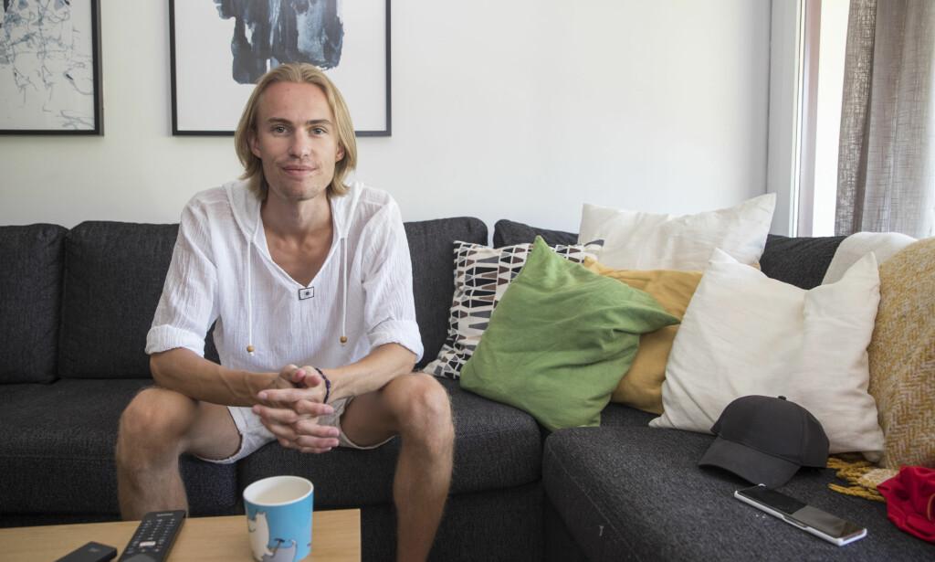 SYK: Daniel-André Tande har pådratt seg influensa, og måtte avbryte ei treningssamling. Foto: Terje Pedersen / NTB scanpix