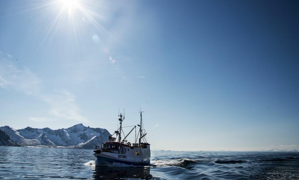 GRUNNSTEINER: Kystfiskere og småbønder har vært grunnsteiner i oppbyggingen av Norge, men i dag er næringene og deres samfunnsoppdrag truet. Her en sjark på fiske ved Gryllefjord på Senja. Foto: Hans Arne Vedlog