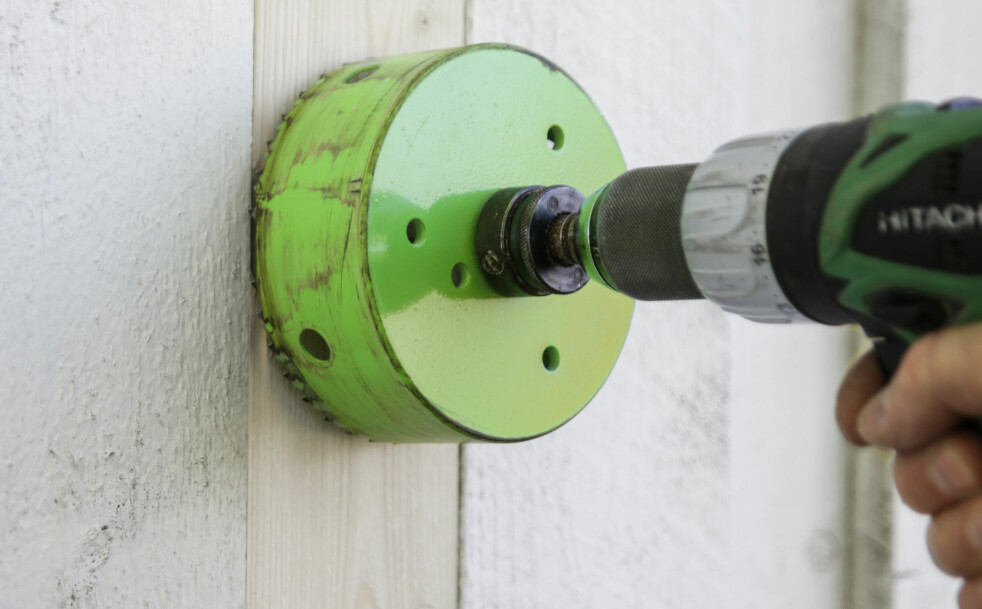 TUNGT: Store hullsager belaster drillen mye og feil. Foto: Øivind Lie-Jacobsen