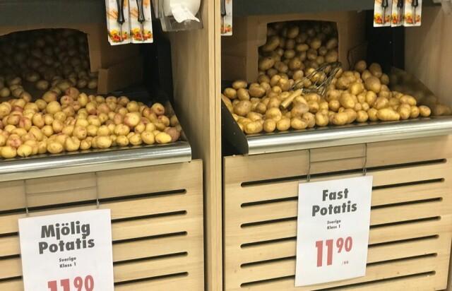 6866d89e LA LIGGE: Mange plukker med seg en kilo poteter på svensketuren uten å vite  at
