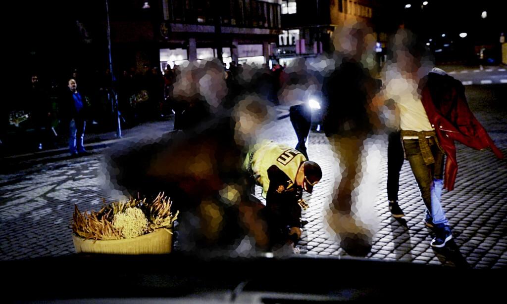 OSLOS UTELIV: Kombinasjonen av høyere aksept for illegale rusmidler og tilgjengeligheten byr på utfordringer for politiet i Oslo. Foto: Christian Roth Christensen