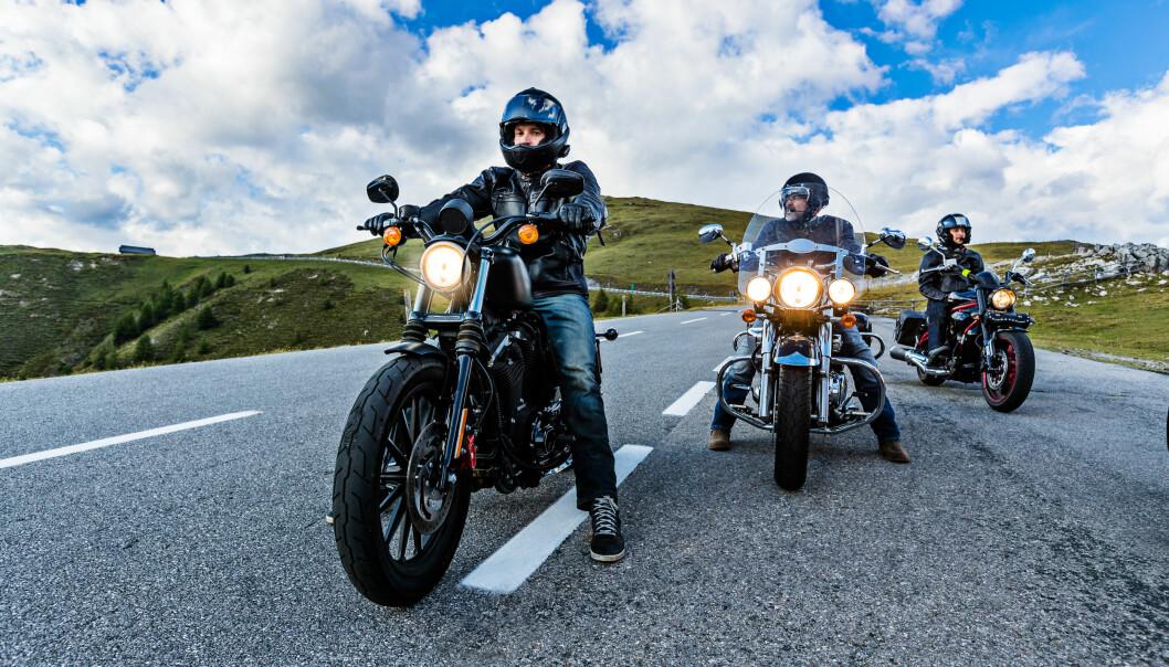 <strong>MOTORSYKKEL:</strong> Her kommer prisen an på hvilken sykkel du skal ha. Foto: Shutterstock