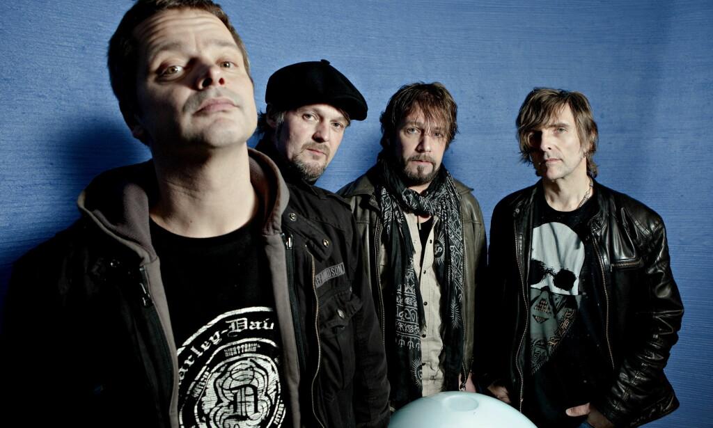 MANDAG HELE ÅRET: DumDum Boys har jobbet i tre år med albumet «Armer og bein». Foto: Lars Eivind Bones / Dagbladet.