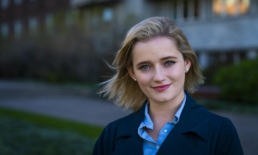 image: Varsler Julia Sandstø melder overgang til Høyre og tar et oppgjør med KrF: - Det jeg gikk gjennom ville jeg ikke unt min verste fiende