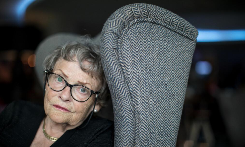KJEMPER FOR KRIGSBARNA: Som liten ble Tove-Laila Strand (77) sendt tilbake til Norge fra Tyskland etter krigen. Der ble livet hennes et helvete. Foto: Eivind Senneset / Dagbladet