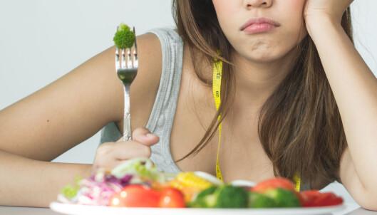 VANSKELIG: Det kan være vanskelig å opprettholde en streng diett over tid. Foto: Shutterstock