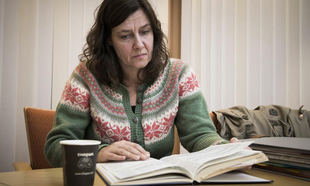 SENTRALT BEVIS: Oddmund førte detaljert dagbok gjennom hele sykeleiet. Den er nå et sentralt bevis i saken. Foto: Lars Eivind Bones / Dagbladet