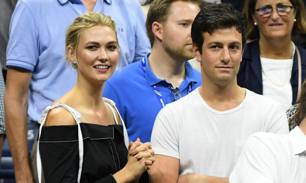 MANN OG KONE: Her er det nygifte paret avbildet sammen under US Open Tennis Tournament i New York i september. Foto: NTB Scanpix