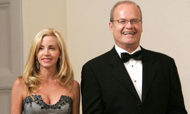 VAR GIFT: Camille Grammer og Kelsey Grammer var gift fra 1997 til 2011. Foto: NTB scanpix