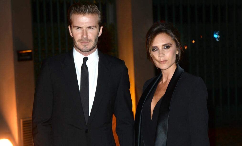 PREGET: David Beckham uttalte nylig i et intervju at ekteskapet med Victoria Beckham er komplisert. Dette skal ikke ha falt i smak hos kona. Foto: NTB scanpix