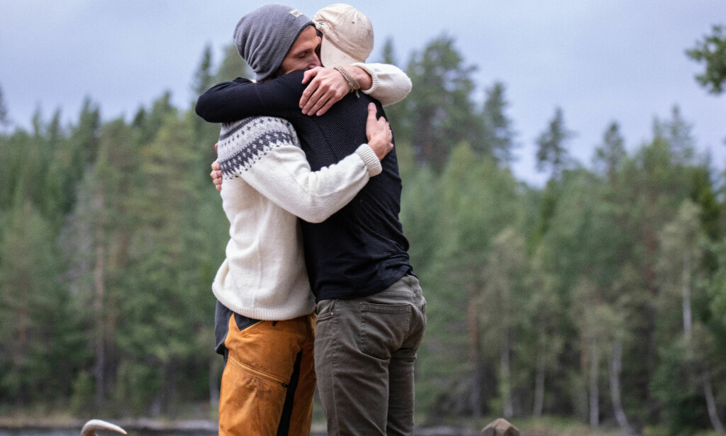 TRIST AVSKJED: Nikolai Aspen fant tvekampen, som betydde at Paal Nygårds opphold på «Farmen»-gården var over. Han er i dag stolt over egen innsats, og hadde aldri trodd at han skulle komme så langt. Foto: Alex Iversen / TV 2