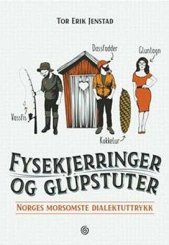 NORSKE DIALEKTORD: Tor Erik Jensen har samlet en hel del dialektord-og uttrykk i sin nye bok. Foto: Kagge forlag AS.