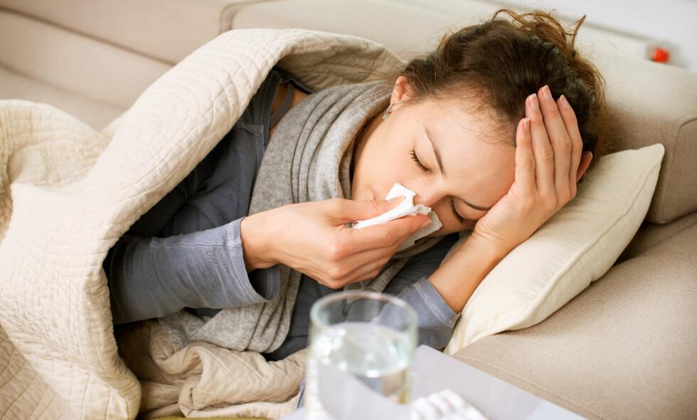 INFLUENSA: - Har man hatt influensa, glemmer man det aldri, sier overlege og forsker på influensa, Kristin Greve-Isdahl Mohn. Foto: NTB Scanpix