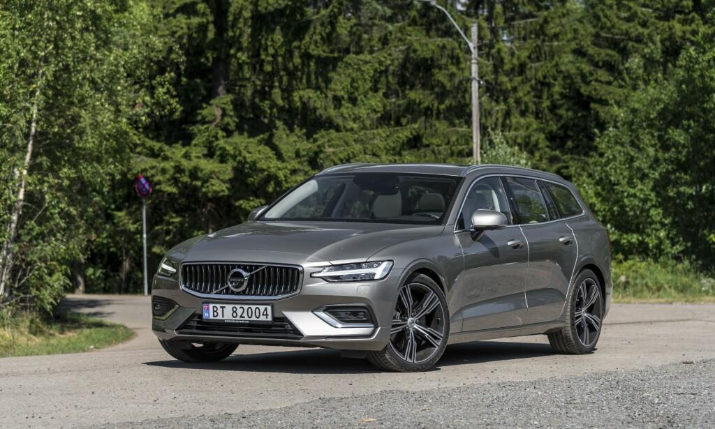 LADEHYBRID: Volvo V60 kommer endelig med motorer som vil gjøre den mer salgbar. Foto: Jamieson Pothecary